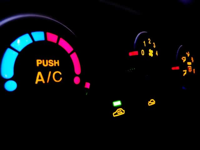 Aircondition bil