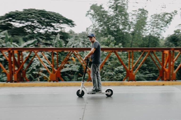 El-løbehjul er den nye måde at blive transporteret på